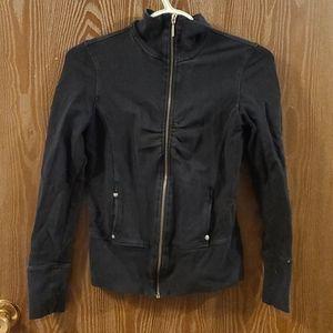 SALE - 💜3/$15 - Dynamite - black zip up sweater